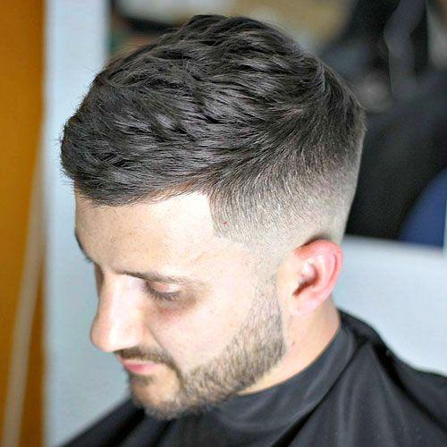 Short Textured Hair Cut