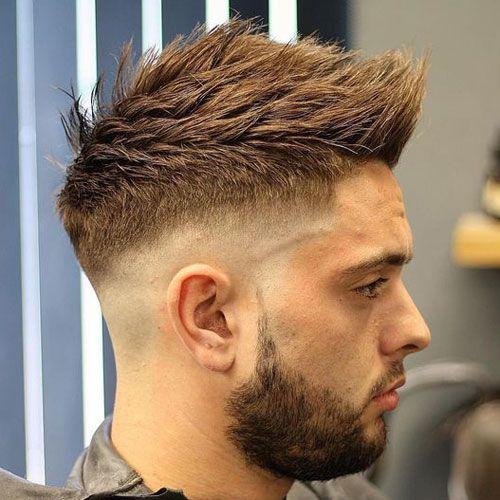 High Fade Quiff Haircut ( Tom Baxter Hair )